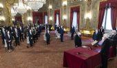 Draghi e i suoi ministri giurano nelle mani del capo dello Stato