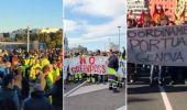 Green Pass, proteste contro l'obbligo ma con disagi contenuti