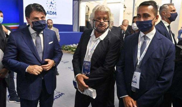 Cinquestelle, Grillo il 'governista' a Roma incontra Di Maio