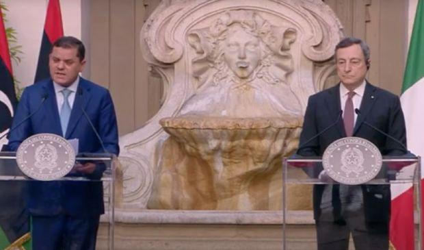 Draghi incontra il premier libico e punta a stabilizzare il Paese