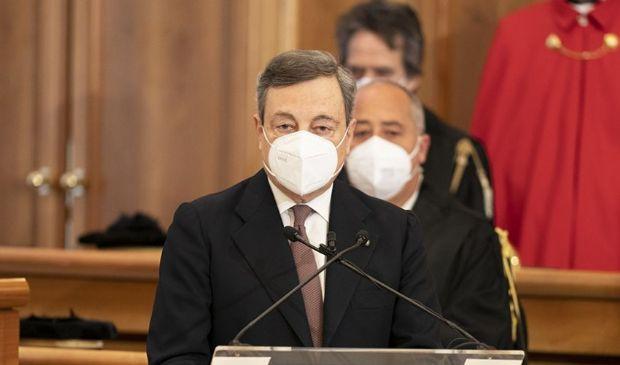 Draghi in prima linea per dossier vaccini, Alitalia, Autostrade