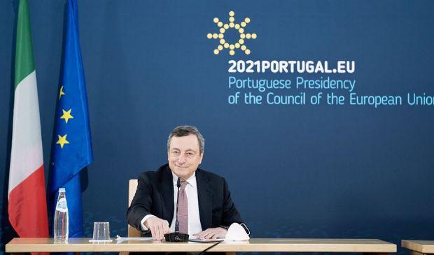"""Draghi e le riaperture: ipotesi di un coprifuoco """"light"""", alle 24"""