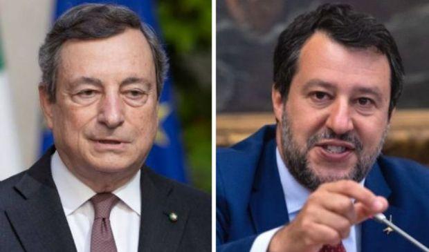 Incontro Draghi-Salvini: Stato di emergenza, mascherine e Green pass