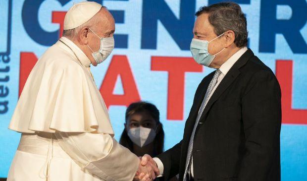 Famiglia, Draghi in sintonia con il Papa. Sul clima incontra Kerry