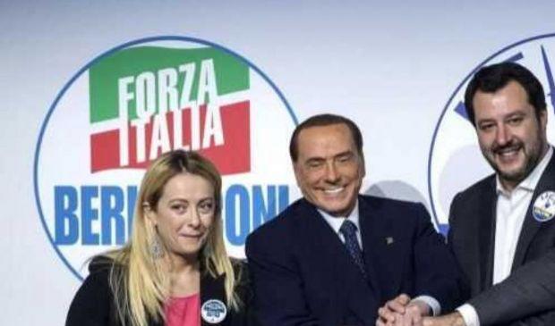 Governo Centrodestra Berlusconi Salvini 2018 con Tajani Presidente