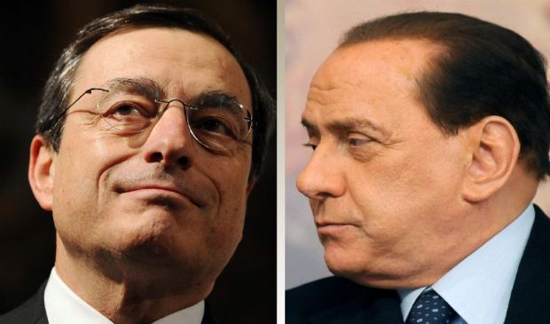 Berlusconi dice sì a Draghi. Si delinea allargamento della maggioranza