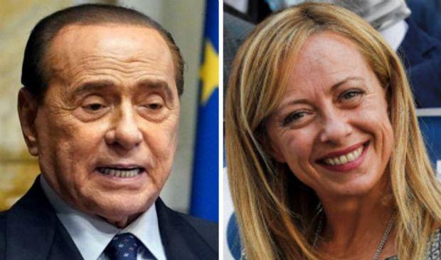 Berlusconi – Meloni: incomprensioni superate con melanzane e salmone