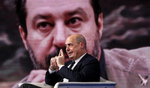 Lockdown Pasqua, primo litigio tra Matteo Salvini e Nicola Zingaretti