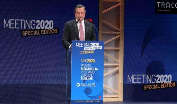 Draghi tra debito buono e cattivo, giovani e politica economica