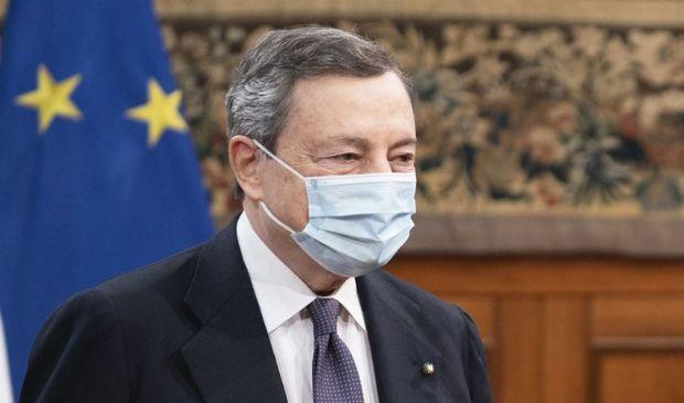 "Recovery, Draghi: ""Diminuire divario tra Nord e Sud del Paese"""