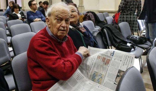 Muore a 96 anni Emanuele Macaluso siciliano, comunista e giornalista