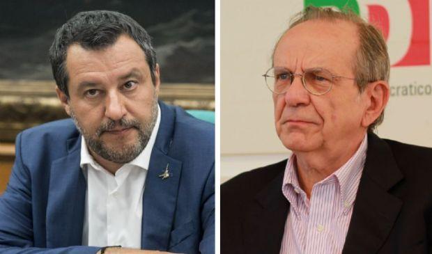 Banca Mps, Salvini chiede le dimissioni di Padoan da Unicredit