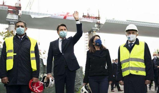 """Ponte Genova, Conte assicura: """"Procedura revoca chiusa in tempi brevi"""""""