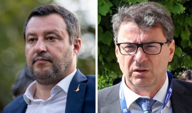 Salvini e Giorgetti allo scoperto, lo scontro non è più sotterraneo
