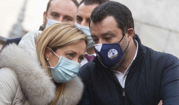 Salvini e Meloni al Colle. Intanto la nuova fase di Conte non decolla