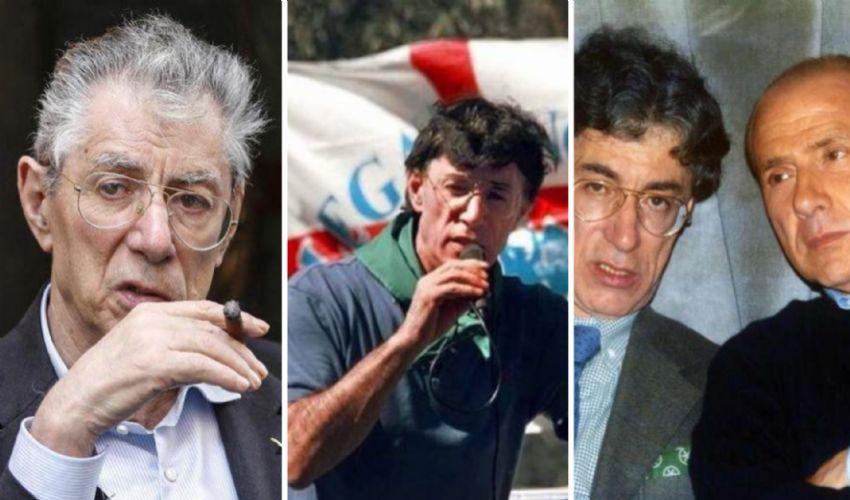 """Umberto Bossi compie 80 anni: da """"Roma ladrona"""" a """"prima gli italiani"""""""