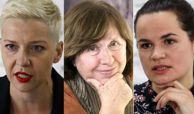 In Bielorussia tre donne forti guidano l'opposizione a Lukashenko