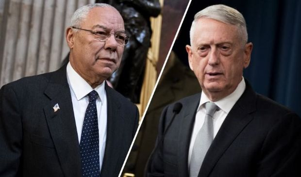 Colin Powell e James Mattis, la protesta USA parte anche dall'alto