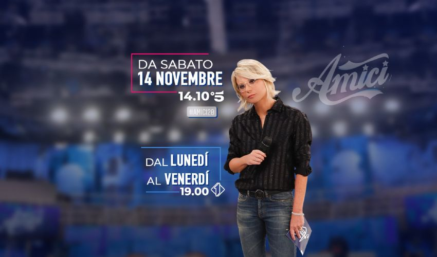 Amici 2020/2021: professori e concorrenti, cast, streaming 28 novembre