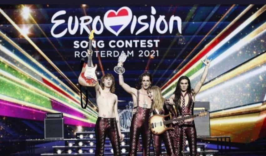 """Eurovision 2021, trionfano i Maneskin. """"Il rock non muore mai!"""""""