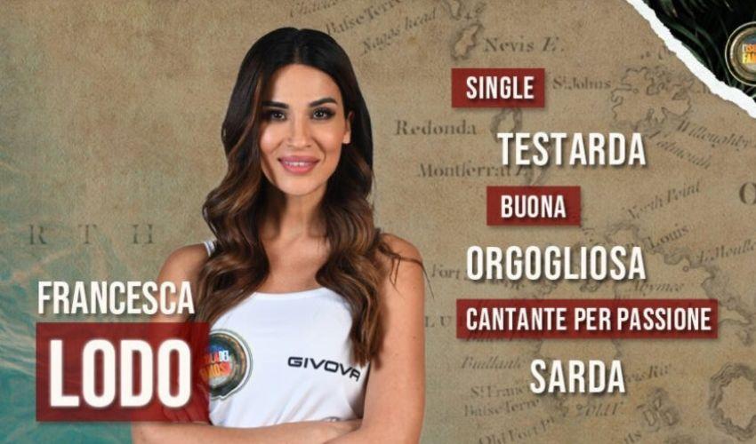 Francesca Lodo: età, carriera, biografia, Isola dei Famosi 2021