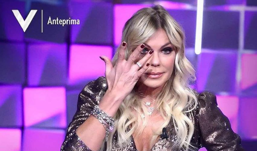 """Matilde Brandi in lacrime a Verissimo: """"Marco mi ha lasciato"""""""