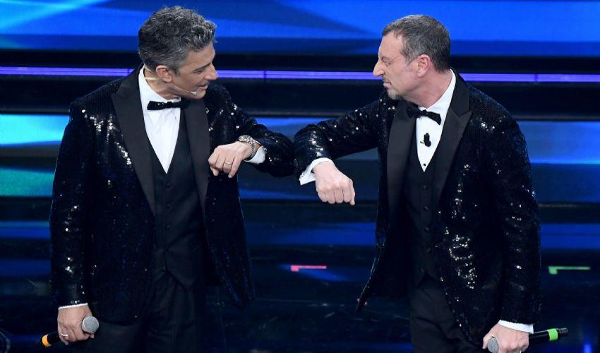 Sanremo 2021: Pausini commuove e Il Volo omaggia Morricone, Elodie...