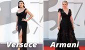 Venezia 78, gli abiti total black di Luisa Ranieri e Kirsten Dunst