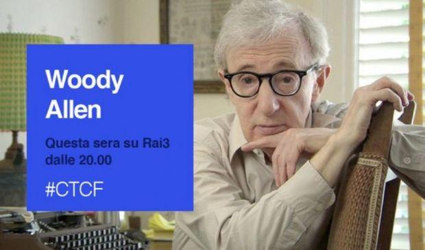 Che Tempo Che Fa, Woody Allen stasera da Fabio Fazio. Tutti gli ospiti