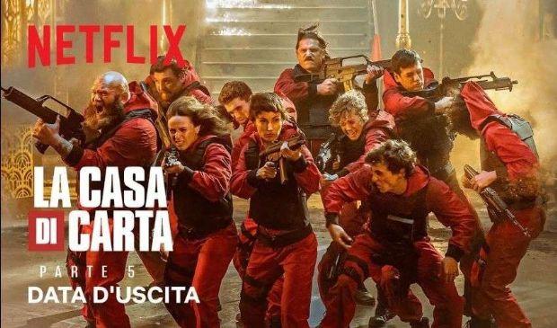 La Casa di Carta 5 data di uscita: Volume 1 dal 3 settembre su Netflix