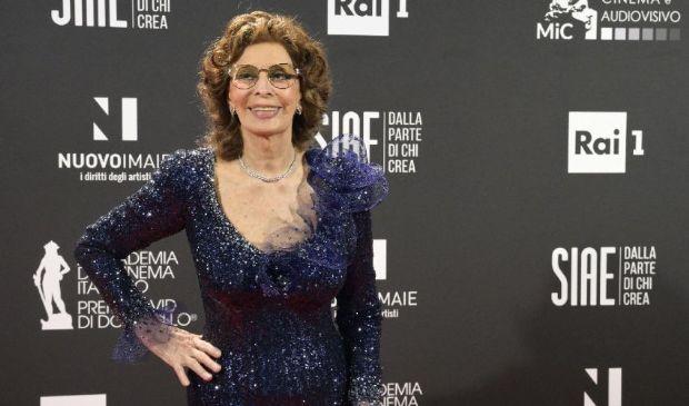 David di Donatello 2021, i look: Sophia Loren vince anche in eleganza
