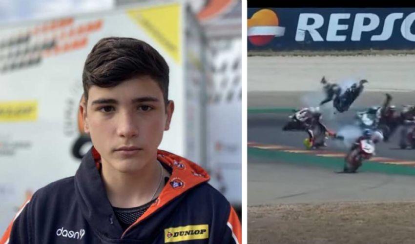 Muore in pista Hugo Millàn, 14 anni, pilota spagnolo più promettente