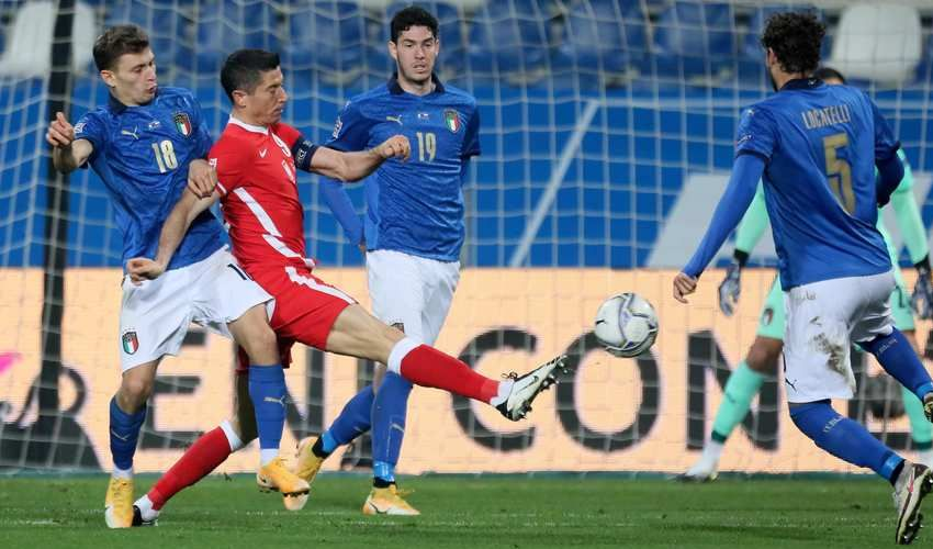 Le pagelle degli Azzurri: Italia-Polonia 2-0. Goal Jorginho e Berardi