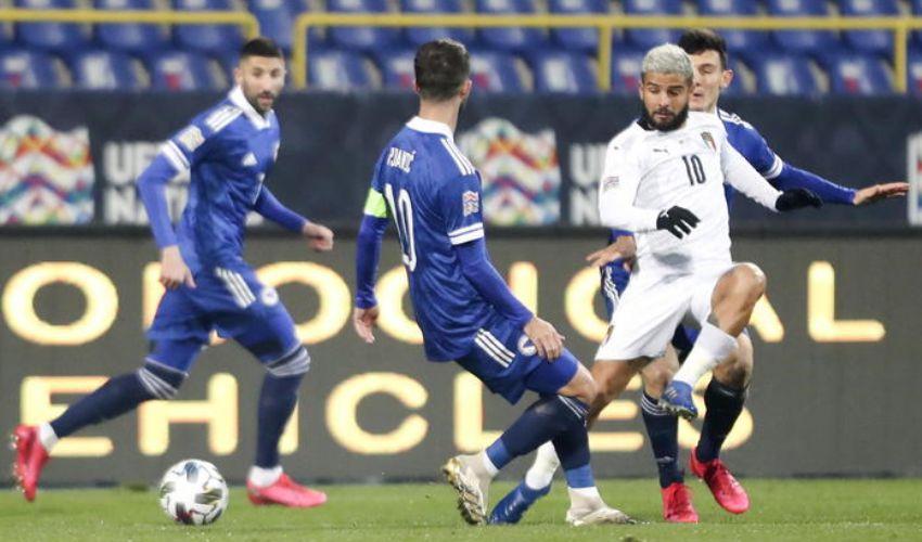 Bosnia-Italia: 0-2 goal di Belotti e Berardi. Italia prima del girone.