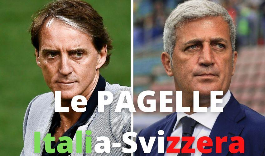 Pagelle Italia Svizzera 3-0. Locatelli protagonista, Immobile chiude