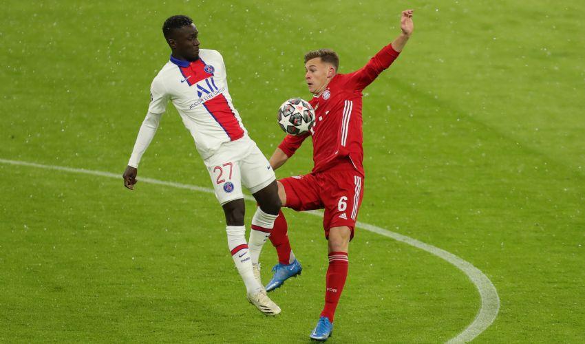 Champions league 2020/2021 Paris Saint Germain-Bayern Monaco 0-1
