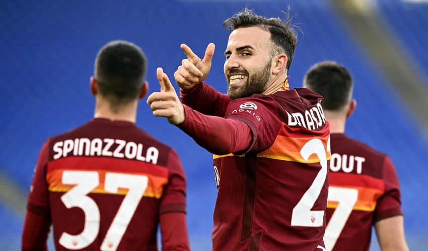 Roma- Braga 3-1: Dzeko, Perez, Mayoral per gli ottavi di Europa League