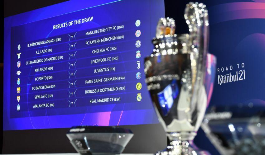 Sorteggi Champions ottavi: Lazio, Juventus e Atalanta. Le avversarie