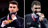 Olimpiadi, prime medaglie azzurre: nel taekwondo e nella sciabola
