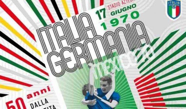 Calcio, FIGC: 50 anni dalla #PartitaDelSecolo, Italia-Germania 1970