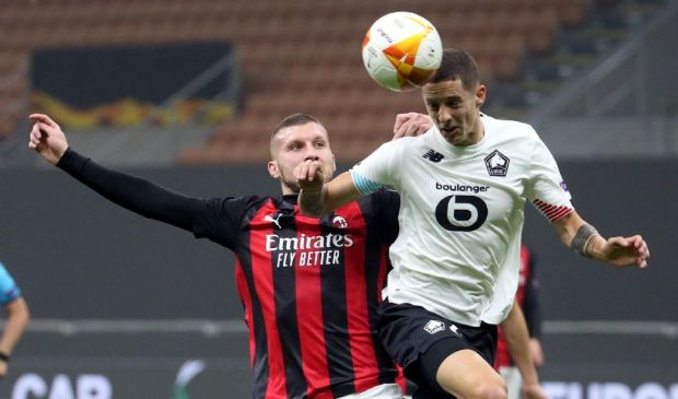 Europa League 2020/2021: Lille-Milan 1-1! In rete Castillejo e Bamba.