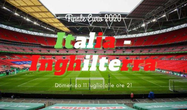 Inghilterra-Italia: orario, dove vederla, formazioni finale Euro 2020
