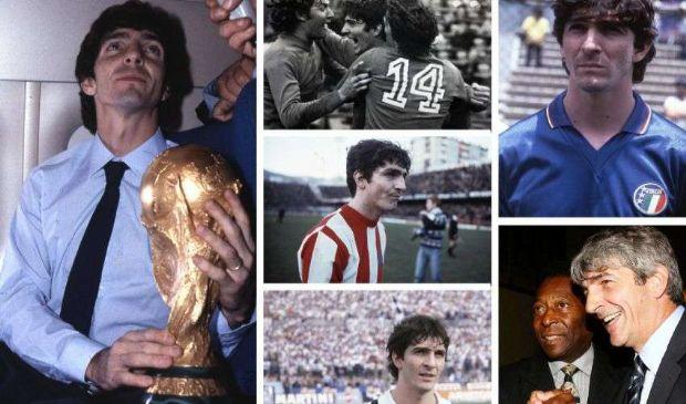 Paolo Rossi, le dediche più belle per l'attaccante del mondiale 82'