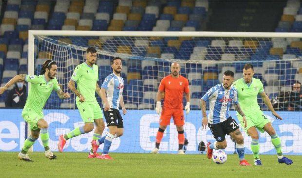 Serie A 2020/2021: Napoli-Lazio finisce 5-2. Tre punti da Champions