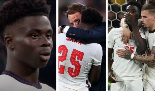 Il razzismo nel calcio e sui social non si ferma: la lettera di Saka