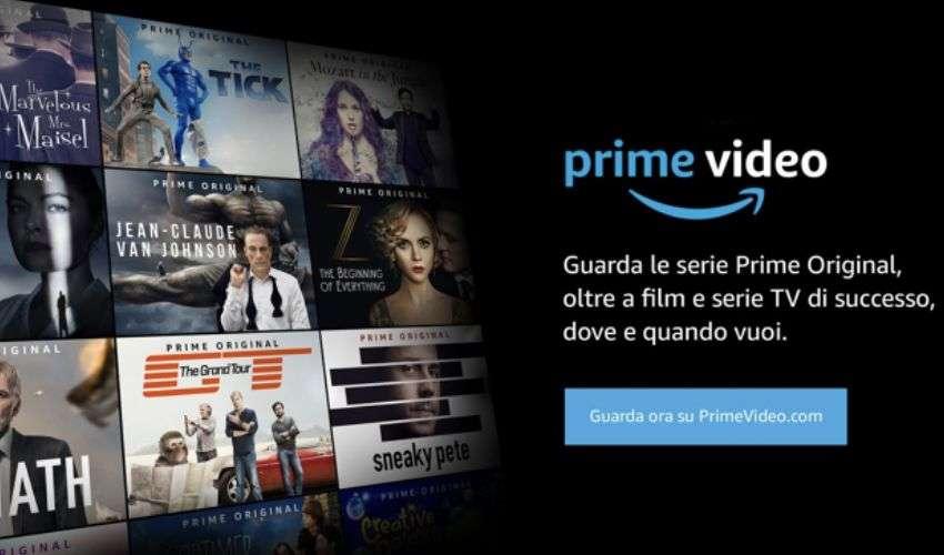 Amazon Prime Video catalogo, film e serie TV disponibili, dispositivi