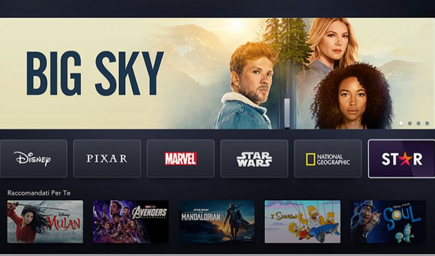 Star Disney Plus: catalogo film, serie tv disponibili dal 23 febbraio