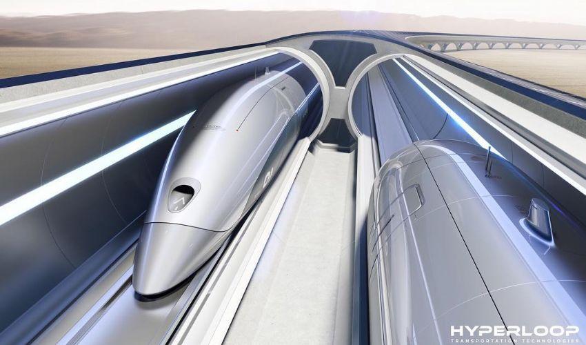 Treno Hyperloop entro il 2030 in Italia: Milano-Roma in 30 minuti