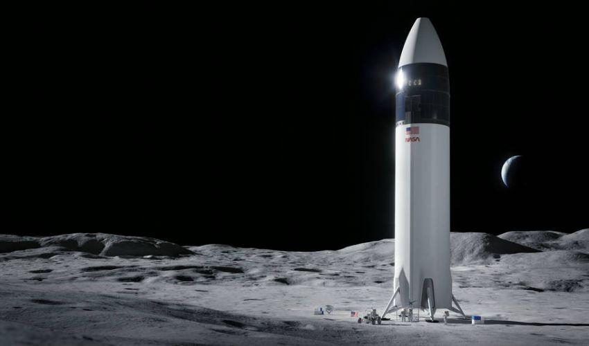 La NASA ha scelto SpaceX di Elon Musk per tornare sulla Luna