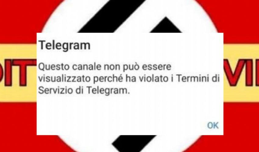 """Telegram ha oscurato chat no vax: """"ha violato i termini del servizio"""""""